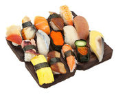 Large Sushi Sampler — Stockfoto