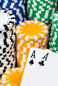 I'm All In — Stock Photo