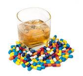 Droghe e alcool — Foto Stock