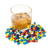 Drugs and Alcohol — Stock Photo