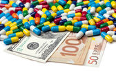 Pay For Your Meds — Stock Photo