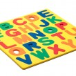 Stock Photo: ABC Foam Letters