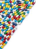 Fifty-Fifty Pills — Stock Photo