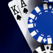Going all in on the Royal Flush — Stock Photo #18676239