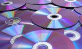 Dados e dvds — Foto Stock