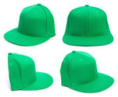Green Hat at Different Angles — Stock Photo