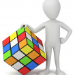 3d small - Rubik's cube. — Stock Photo #22369261