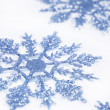 Blue snowflakes — Stock Photo #14693975