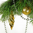 Christmas tree ornaments — Stock Photo #14832111
