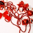 Red Christmas ornaments — Stock Photo #14832221