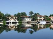 Luxury home in Miami — Stock Photo