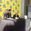 Clive Davis at SXSW 2013. Book signing. — Stock Photo