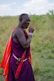 Maasai Man — Stock Photo