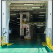 Hangar on ferry for cars — Stock Photo #18694229