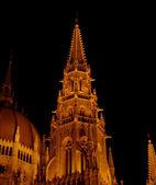Budapest Parliament building (detail) — Stock Photo