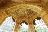 Inside a ruined castle — Foto de Stock