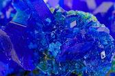 Crystals of blue vitriol - Copper sulfate — Stock Photo