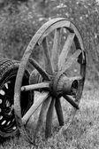 Staré a nové kolo — Stock fotografie