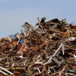 Scrap metal processing industry — Stock Photo #34196221