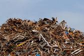 Scrap metal processing industry — Foto Stock