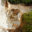Stock Photo: Thassos white marble quarry