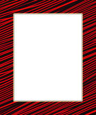 Red and black digital frame — Stock Photo