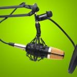 Radio condenser microphone — Stock Photo #15686129