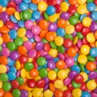 Multi colored candy — Stock Photo
