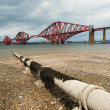 Forth railway bridge in Scotland — Stock Photo