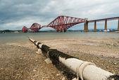 Adiante ponte ferroviária na escócia — Foto Stock