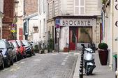 Typical Parisian street — Stock Photo