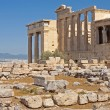 Erechtheum one of the main temples of ancient Athens. — Stock Photo