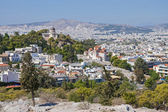 A panorama of Athens from Acropolis — Stock Photo