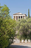 Greece. Athens. Acropolis. Old temple Agora — Stock Photo