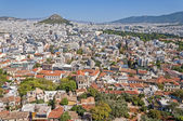 Capital of Greece of Athena. View from the Acropolis. — Stock Photo