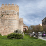 Spain Avila City-fortress — Stock Photo #47309485