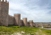 испания авила город крепость — Стоковое фото