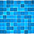 Stock Photo: Semi-transparent blue cubes lit from behind