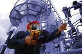 Gas refinery — Stock Photo