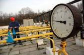Gas refinery — Stock Photo
