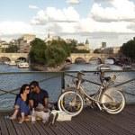 Paris, pont des arts — Stock Photo #20110667