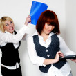 Two woman in office — Stock Photo #20115203