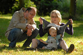 Famille versailles — Stock Photo