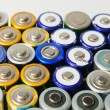 Used rechargeable batteries — Stock Photo #40370477