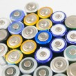 Used rechargeable batteries — Stock Photo #40370473
