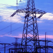 Electric power transmission — Stock Photo #50544809