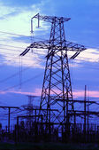 Elektrische transmissie — Stockfoto