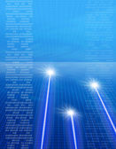 Laser image — Stock Photo