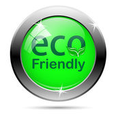 Eco ボタン — ストックベクタ