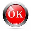 Ok icon — Stock Vector